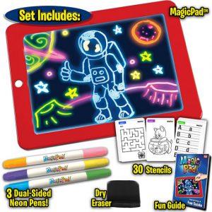 Magic Pad - svetleća tabla za kreativno crtanje