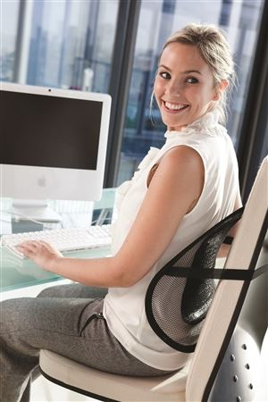 pravilno sedenje za računarom