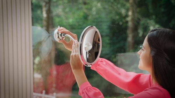 fleksibilno ogledalo koje uvelicava