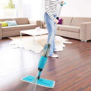 spray mop čistač podova sa raspršivačem iskustva